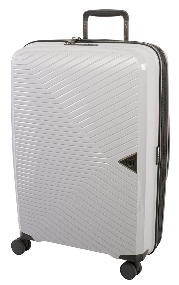 Swiss Gear Ultra-Lite Polypropylene 24 Inch Expandable Upright Luggage - Grey