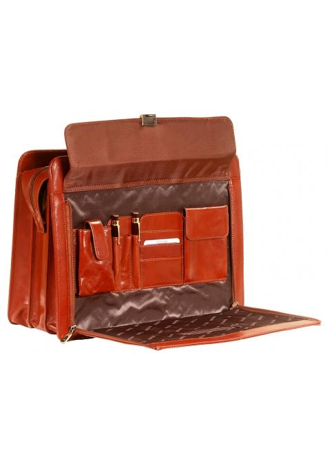 Mancini SIGNATURE Collection Briefcase for Laptop and Tablet