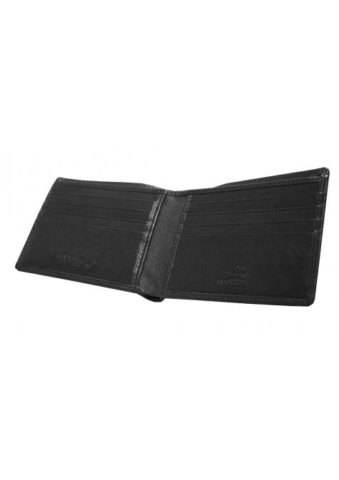 Mancini MANCHESTER Men`s RFID Secure Billfold with Removable Center Wing Passcase
