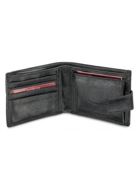 Mancini EQUESTRIAN-2 Men's Wallet with Coin Pocket