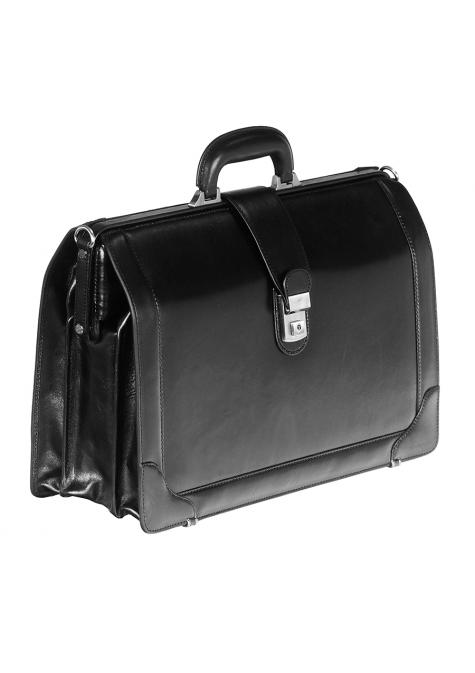 Mancini SIGNATURE Collection Laptop Compatible Litigator Briefcase
