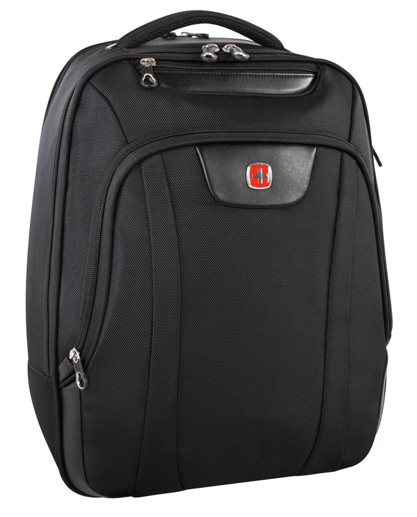 Swiss Gear 17.3 Inch Computer Backpack (RFID Blocking) - Black