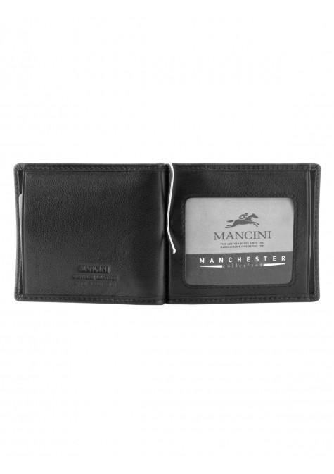 Mancini MANCHESTER Men's I.D. Single Bill Clip