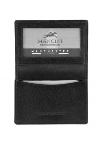 Mancini MANCHESTER Expandable Credit Card Case