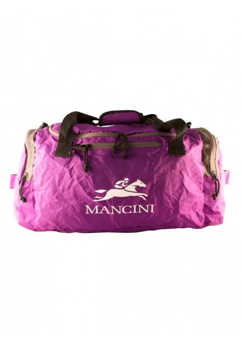 Mancini Pack 'Em In Travel Packable Duffle Bag - Purple