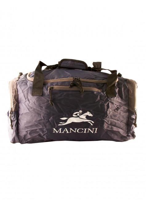 Mancini Pack 'Em In Travel Packable Duffle Bag - Navy Blue