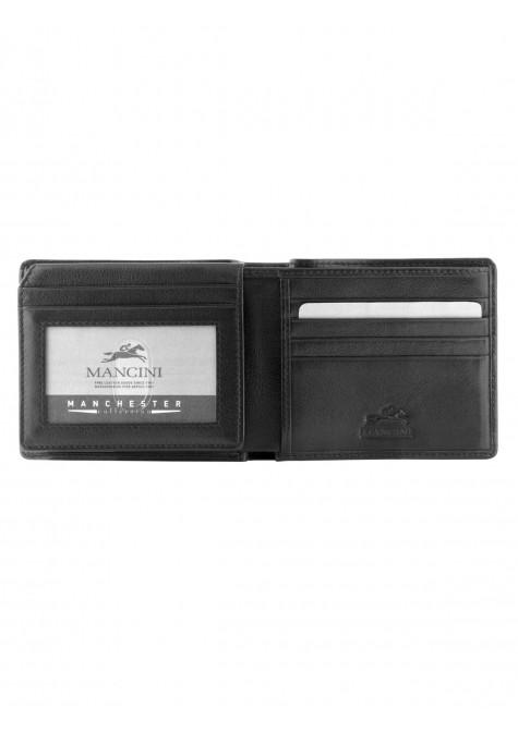 Mancini MANCHESTER Men's Left Wing Wallet