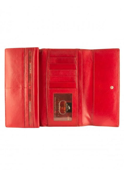 Mancini EQUESTRIAN-2 Collection Ladies' Trifold Wallet