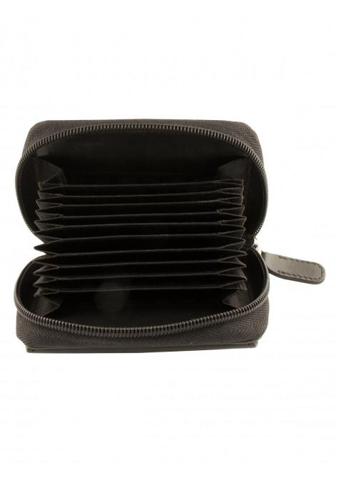 Mancini Manchester Collection Accordion Credit Card Case (Belt Loop)