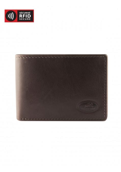 Mancini MANCHESTER Classic Men's Wallet - Brown