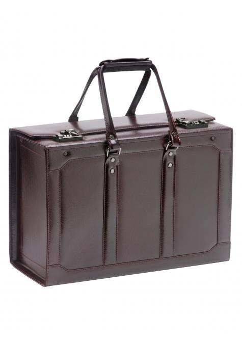 Mancini BUSINESS Collection Catalogue Case - Burgundy