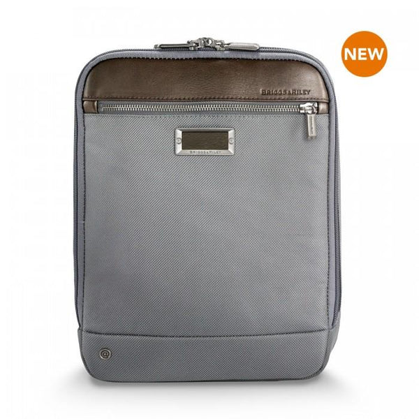 Briggs & Riley @work Expandable Crossbody Bag - Grey