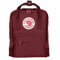 Fjallraven Kanken Mini Backpack - Ox Red