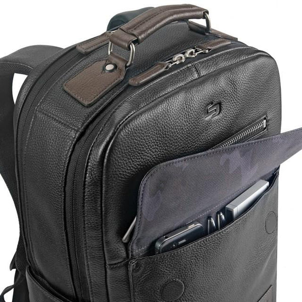 Solo Roadster Collection Kilbourn Leather Backpack