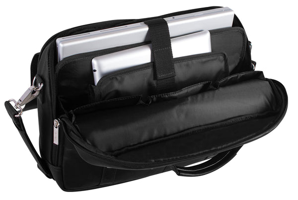 450ff66708 Nextech 10 Inch Tablet and 15.6 Inch Laptop Leather Flapover Briefcase