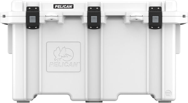 Pelican 150QT Elite Cooler - White