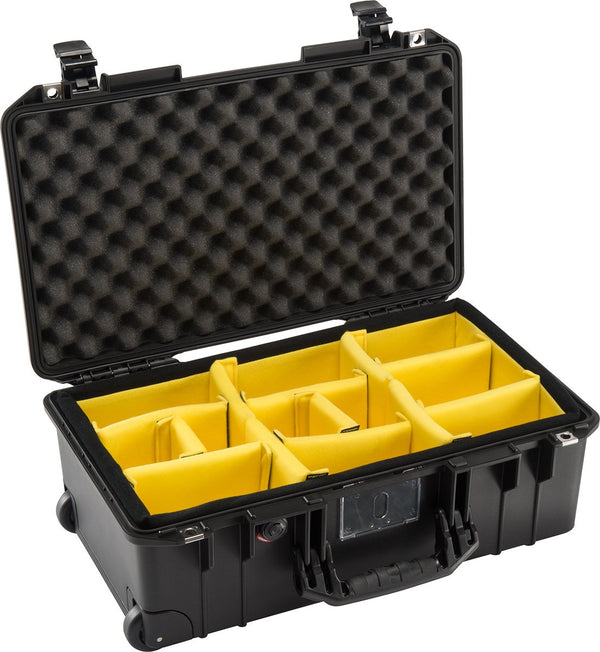 Pelican Protector Case 1535 Carry-On Wheeled Air Case - With Padded Dividers