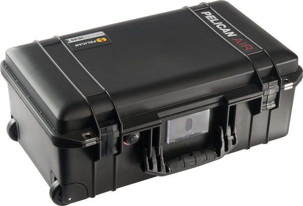 Pelican Protector Case 1535 Carry-On Wheeled Air Case - With TrekPak Divider System - Black
