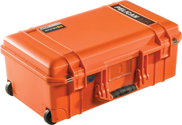Pelican Protector Case 1535 Carry-On Wheeled Air Case - With Foam - Orange