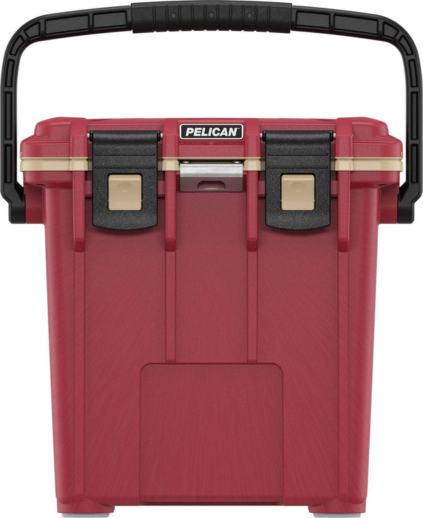 Pelican 20QT Elite Cooler - Canyon Red/Coyote