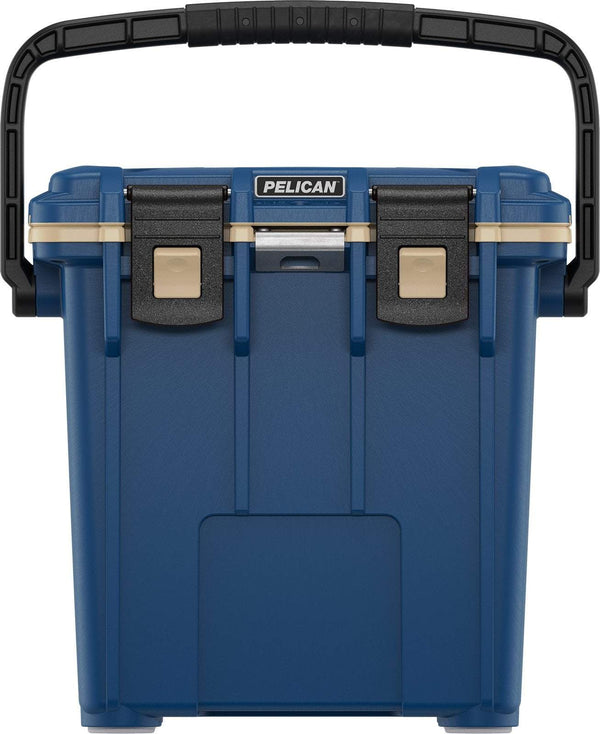 Pelican 20QT Elite Cooler - Pacific Blue/Coyote