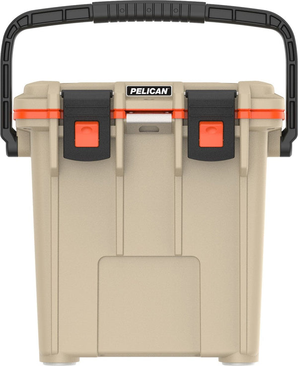 Pelican 20QT Elite Cooler - Tan/Orange
