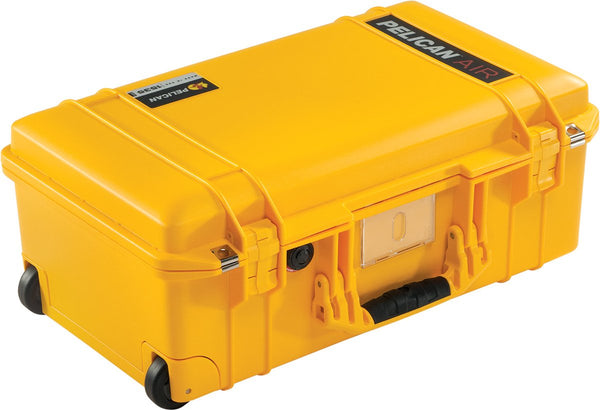Pelican Protector Case 1535 Carry-On Wheeled Air Case - No Foam - Yellow