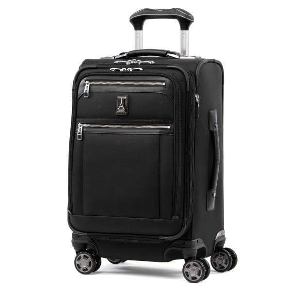 Travelpro Platinum Elite 20 Inch Expandable Business Plus Carry-On Spinner - Shadow Black