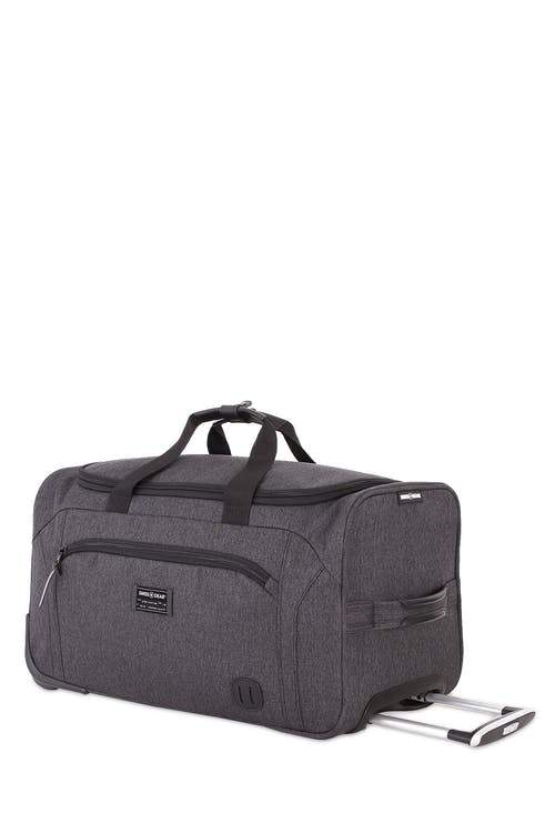 Swiss Gear Getaway Collection 20 Inch Wheeled Duffle - Grey