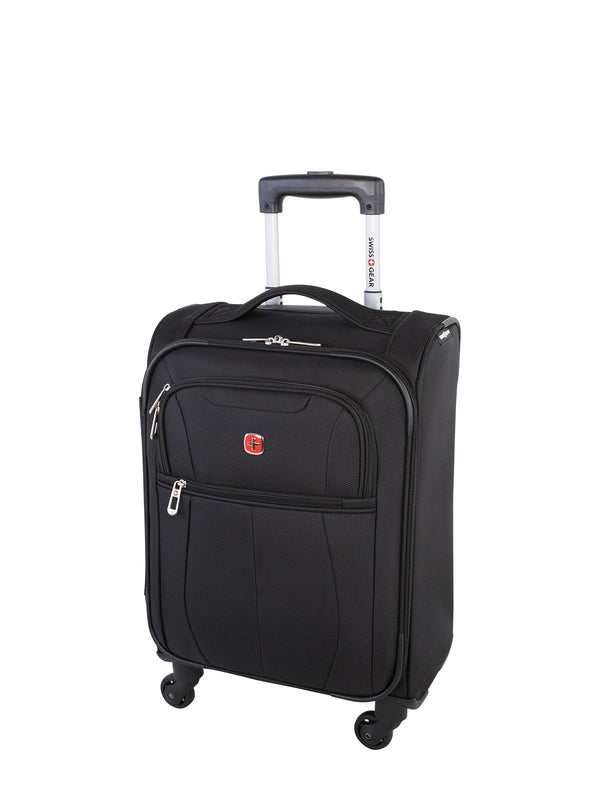 Swiss Gear Classic Collection Carry On Upright Luggage - Black