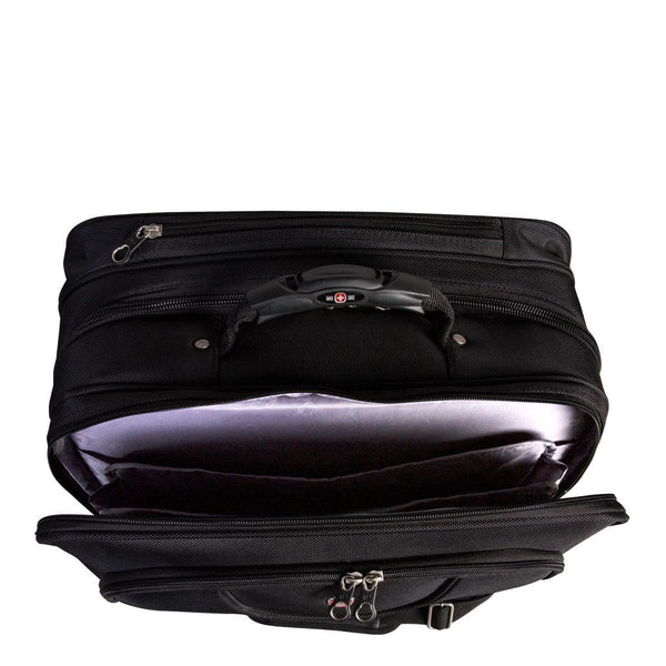 Swiss Gear Wheeled Business Case with Laptop Sleeve