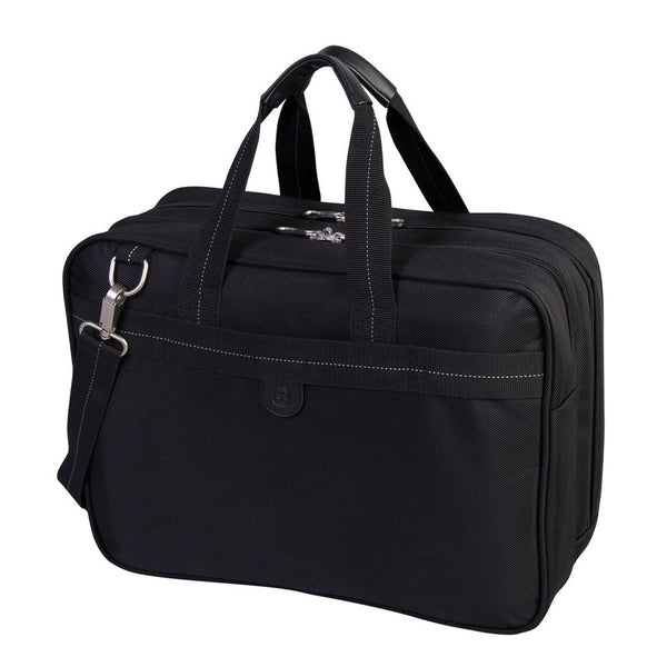 Swiss Gear Ballistic Nylon Deluxe Double Gusset Laptop Briefcase - 17.3 Inches