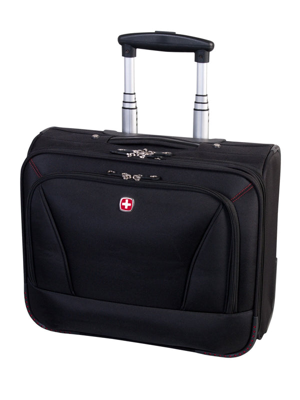 Swiss Gear Wheeled Mobile Office - 15.6 Inches - Black
