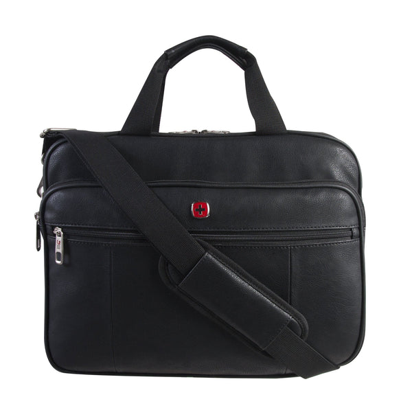 "Swiss Gear Ultraslim 15.6"" Top Load Business Case - Black"