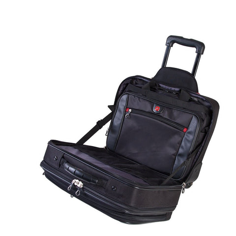 "Swiss Gear 15.6"" Laptop Case with Detachable Computer Bag"
