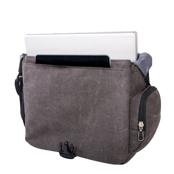 Swiss Gear Cotton Canvas Business Case with Laptop Section