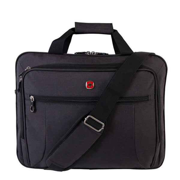 Swiss Gear Business Case with Laptop Section - Charcoal