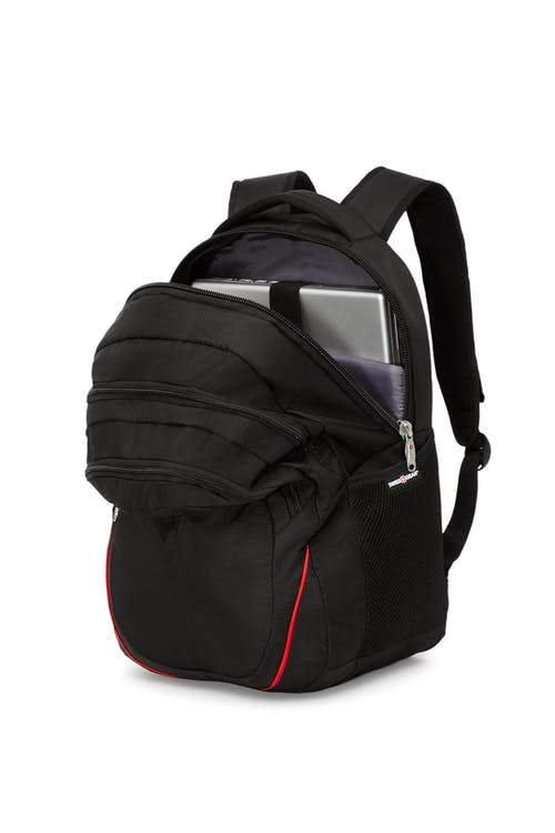 Swiss Gear 15 Inch Computer and Tablet Backpack - Black