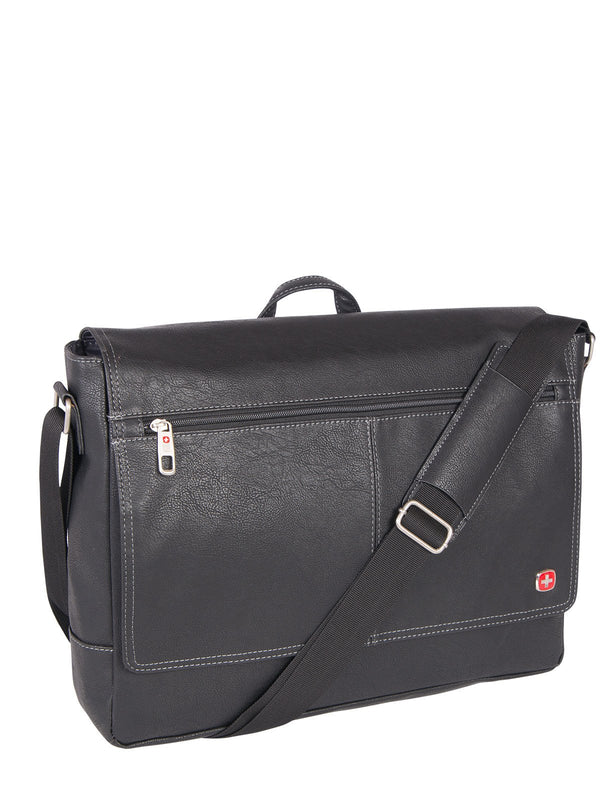 Swiss Gear Business Case with Laptop Section - Black