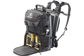 Pelican ProGear - S130 Sport Elite Laptop/Camera Divider Pack Backpack - Black