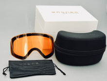Load image into Gallery viewer, Limited Edition SKIBRILLE WD1811 WHITE & GOLD Luxus Geschenkset - WAGNER DESIGN