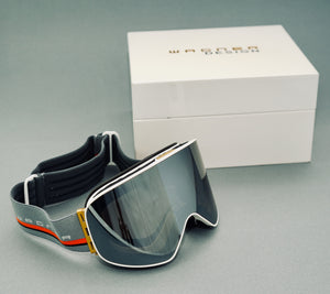 Limited Edition SKIBRILLE WD1811 BLACK & GOLD Luxus Geschenkset - WAGNER DESIGN