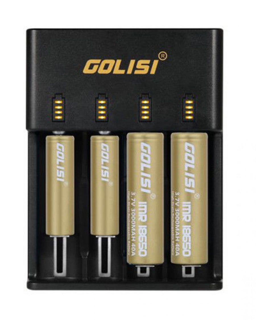 Golisi O4 4-Slot Smart Battery Charger