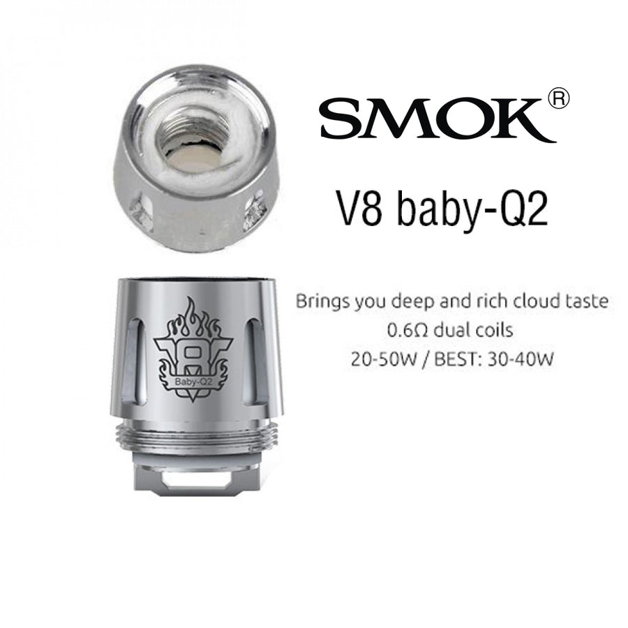 Smok TFV8 Baby Coils (5 Pack)