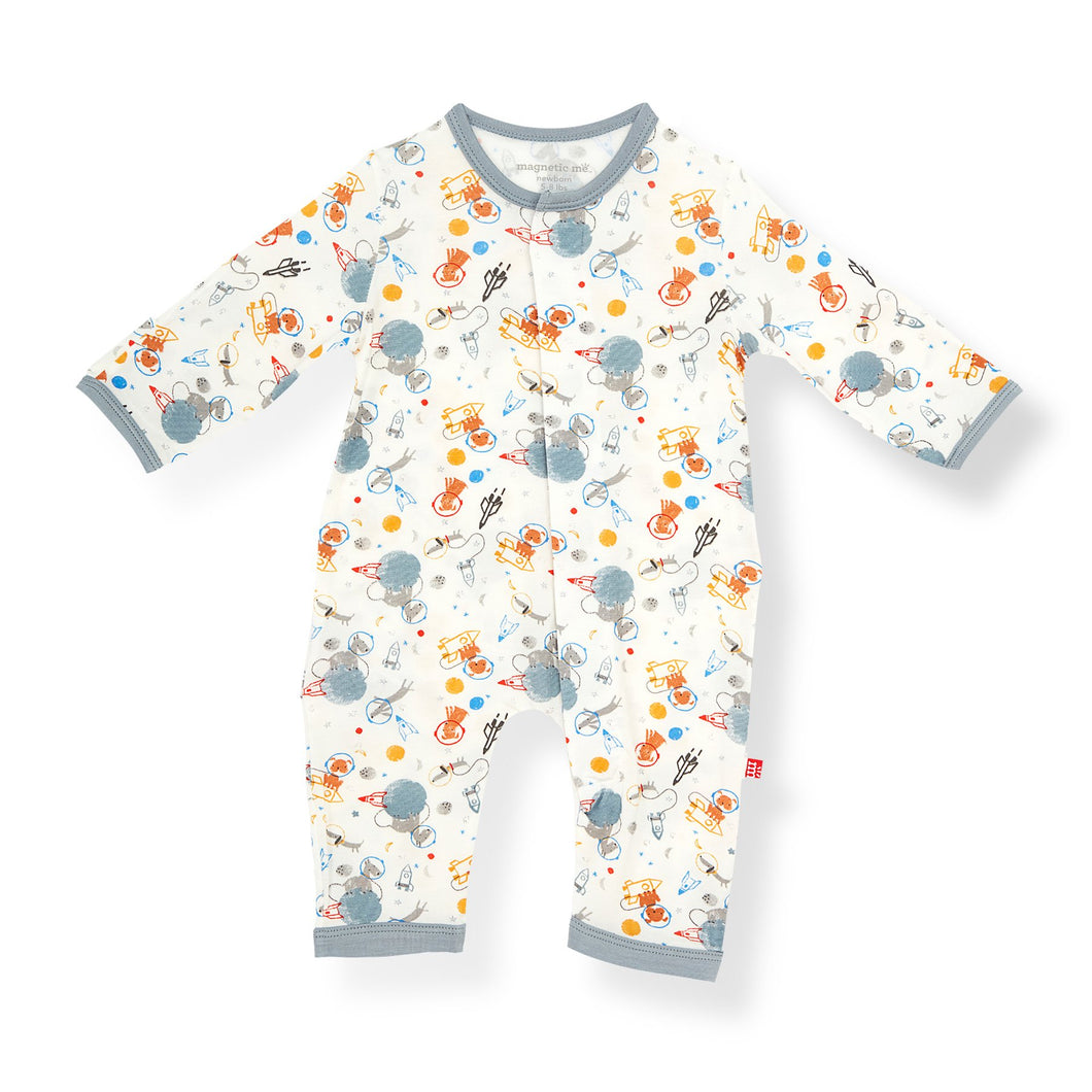 MANE EVENT ORGANIC COTTON MAGNETIC COVERALL