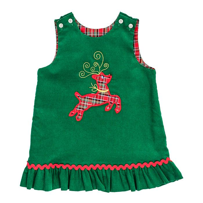 Reindeer Rev Plaid Jumper