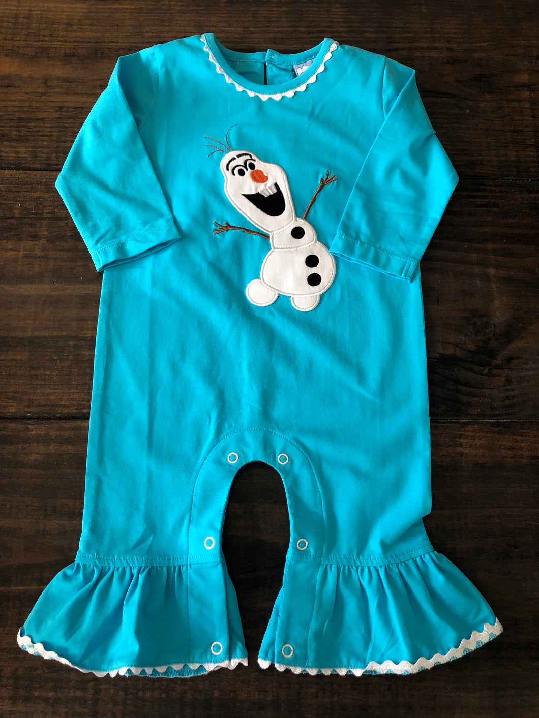 Let It Snow Romper