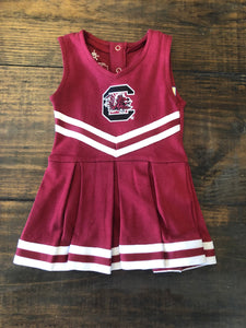 GARNET CHEER BODYSUIT
