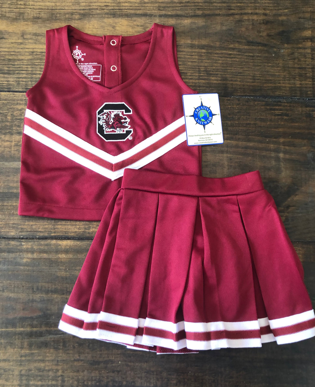 Garnet Cheer Dress W/Bloomers