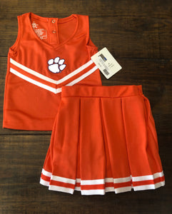Orange Cheer Dress W/Bloomers